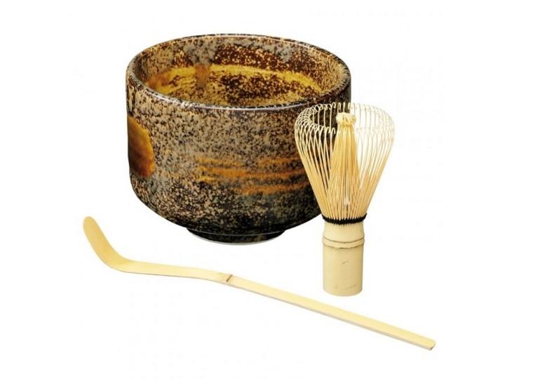 Japanisches Matcha Set Braun